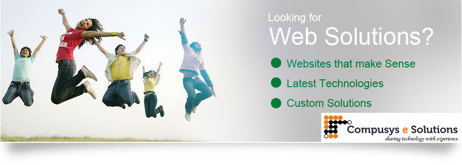 Looking for Web Solutions? Hire Compusys e Solutions Jaipur