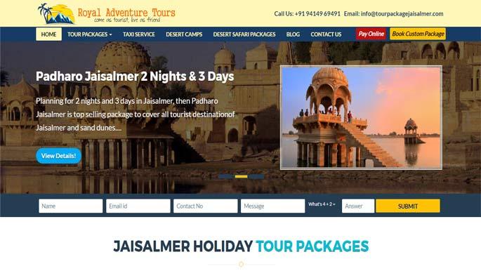 Tour Package Jaisalmer