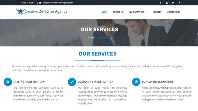 creative detective service