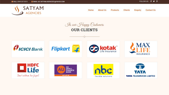 satyam client
