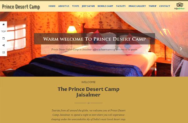 Jaisalmer Prince Desert Camp