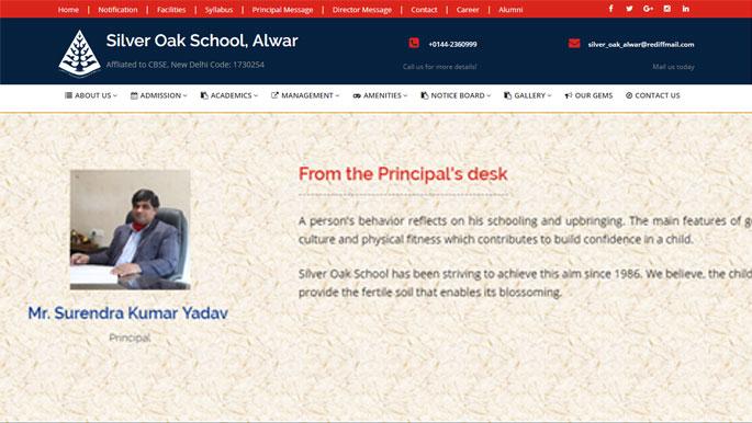 Silver Oak School, Alwar